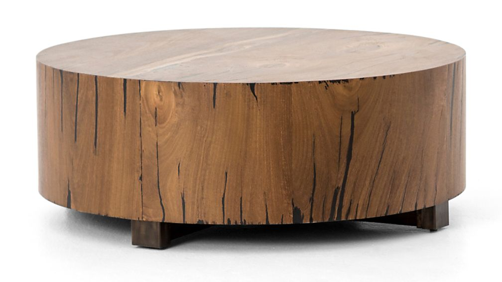 Dillon Natural Yukas Round Wood Coffee Table Reviews