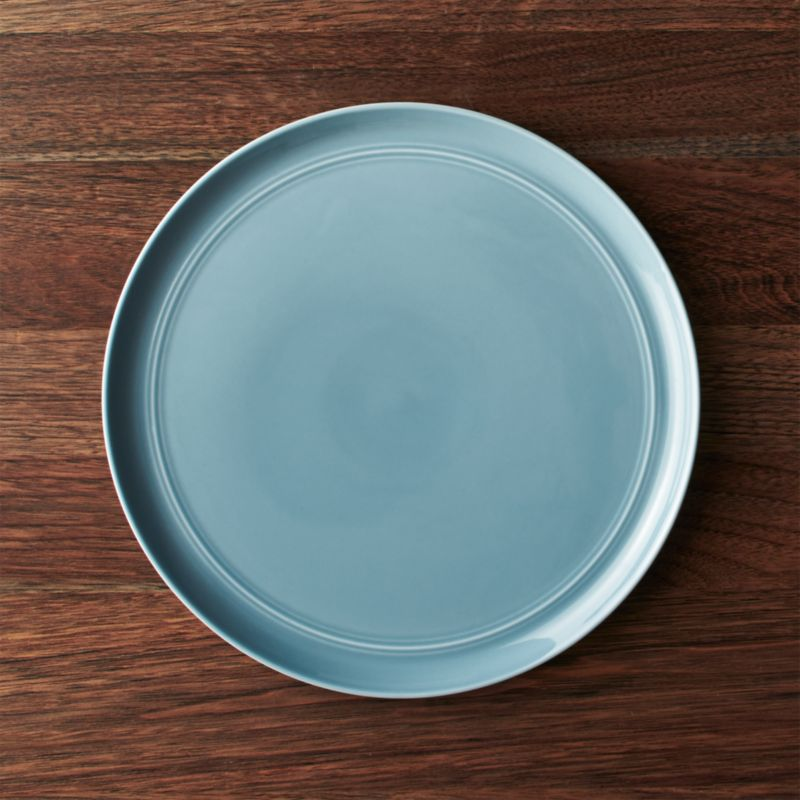 Hue Blue Dinner Plate Crate And Barrel