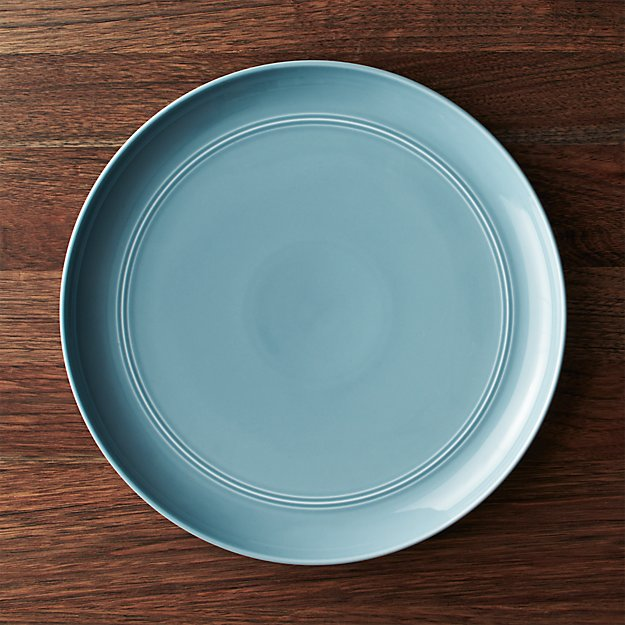 Blue Serving Plate Reviews Crate And Barrel