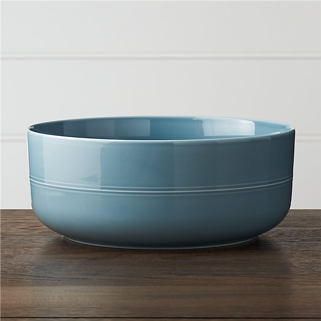 Hue Blue Serving Bowl - Image 1 of 5