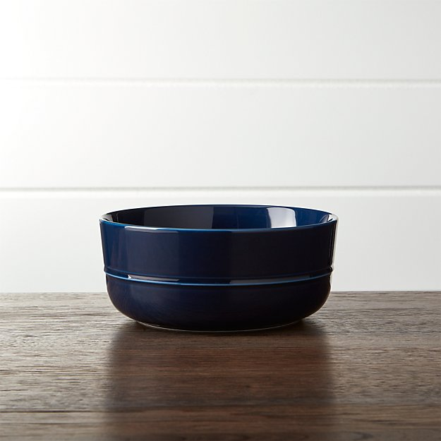 Hue Navy Blue Bowl
