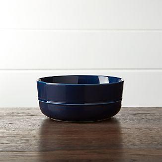 Hue Navy Blue Bowl