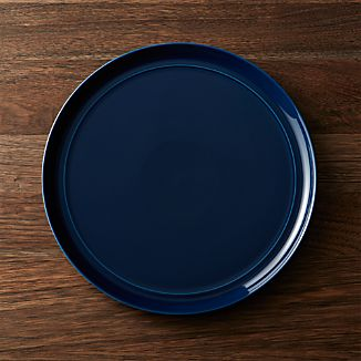 dinner plates square oval rectangular and round crate and barrel. Black Bedroom Furniture Sets. Home Design Ideas