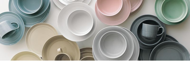 Mix and Match Hue Dinnerware & Mix and Match Dinnerware | Crate and Barrel