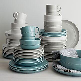 & Blue Dinnerware | Crate and Barrel