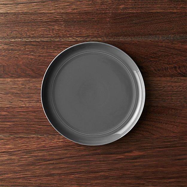 Hue Dark Grey Salad Plate - Image 1 of 4