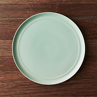 Hue Green Dinner Plate Add to Favorites & Green Dinner Plates | Crate and Barrel