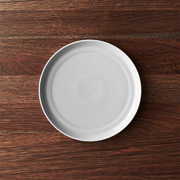 Hue Light Grey Salad Plate - Image 1 of 8