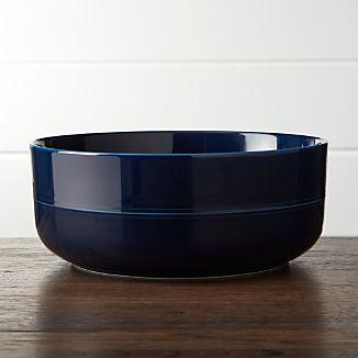 Hue Navy Blue Serving Bowl