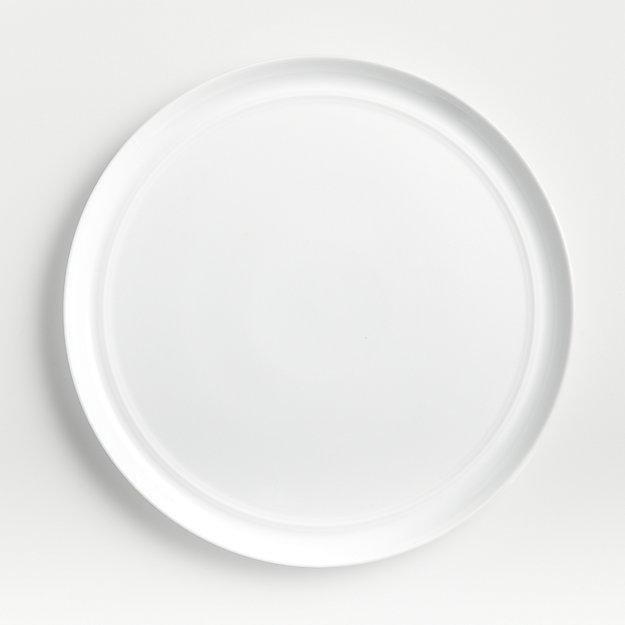 Hue White Dinner Plate - Image 1 of 7