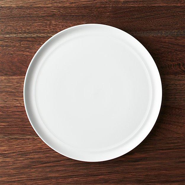Hue White Dinner Plate - Image 1 of 4