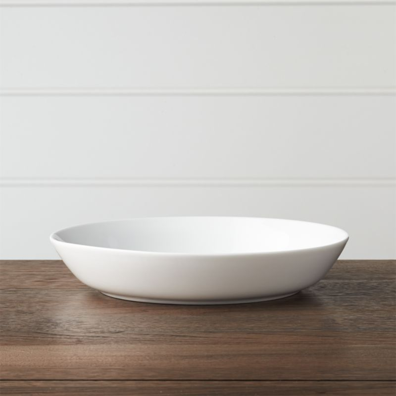 Hue White Low Bowl Reviews Crate And Barrel