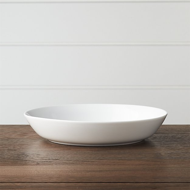 Hue White Low Bowl