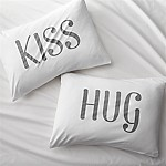 Hug/Kiss Pillow Cases
