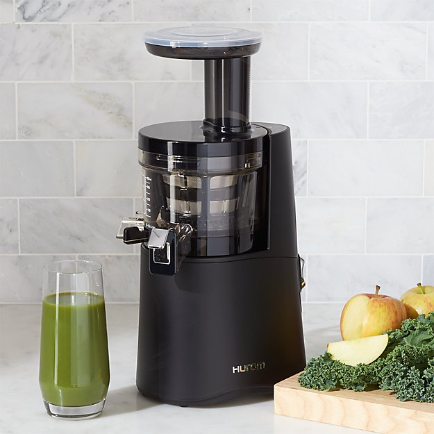 Hurom Juicer Q0010 : Hurom H-AA Matte Black Slow Juicer Crate and Barrel