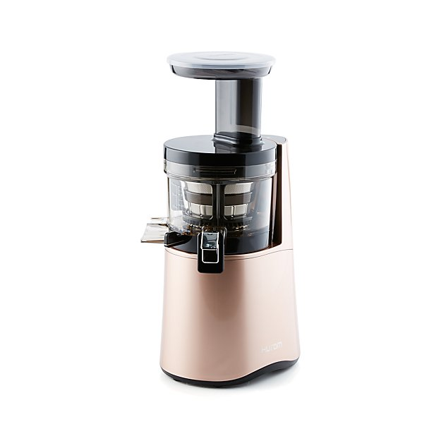 Hurom Slow Juicer Not Turning On : Hurom H-AA Rose Gold Slow Juicer Crate and Barrel