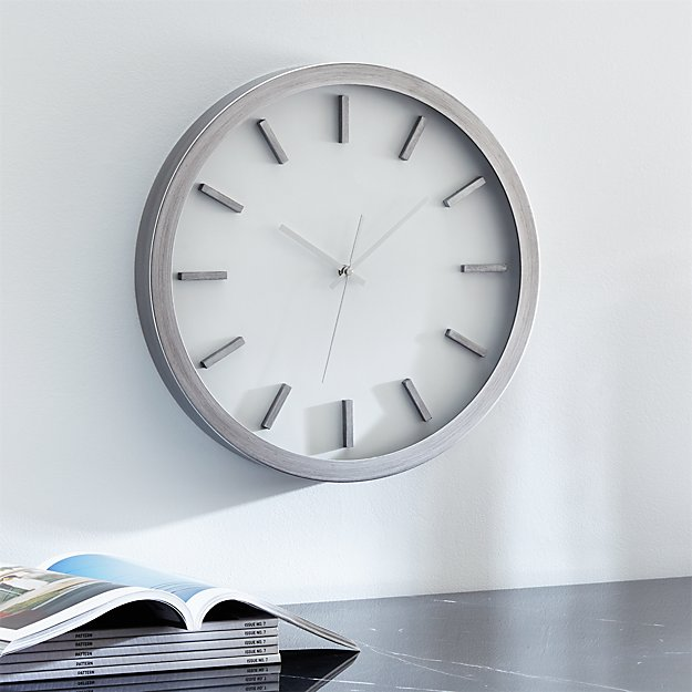 "Huxley 17"" Wall Clock"