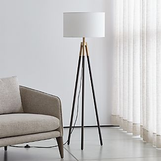 White Lamp Shades Crate And Barrel