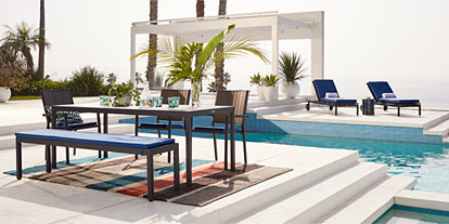 Outdoor Furniture Collections Dining And Lounge Crate And Barrel