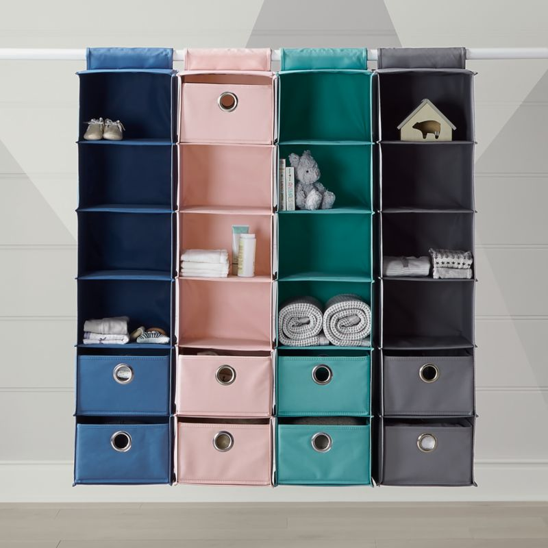 Canvas Hanging Organizer Crate And Barrel