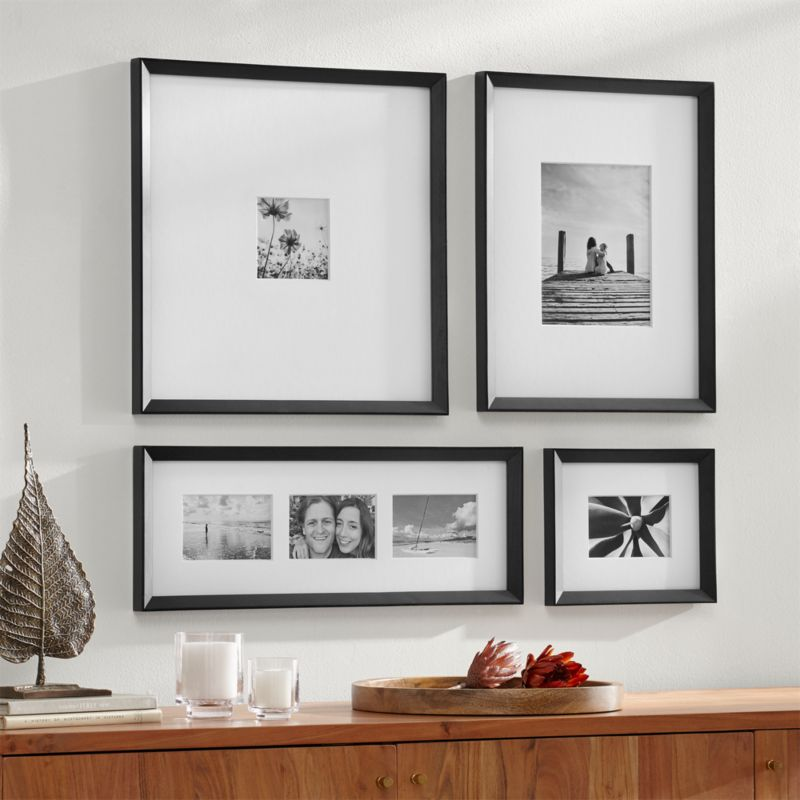 Icon Black Frame Gallery Set Of 4
