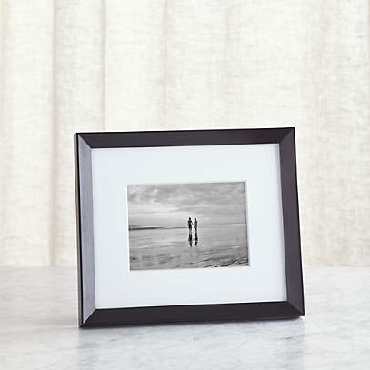Icon 5x7 Black Picture Frame Reviews Crate And Barrel