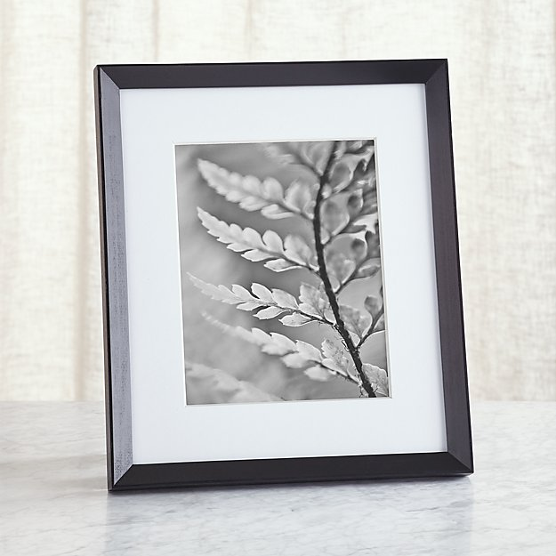 Icon 8x10 Black Picture Frame Reviews Crate And Barrel