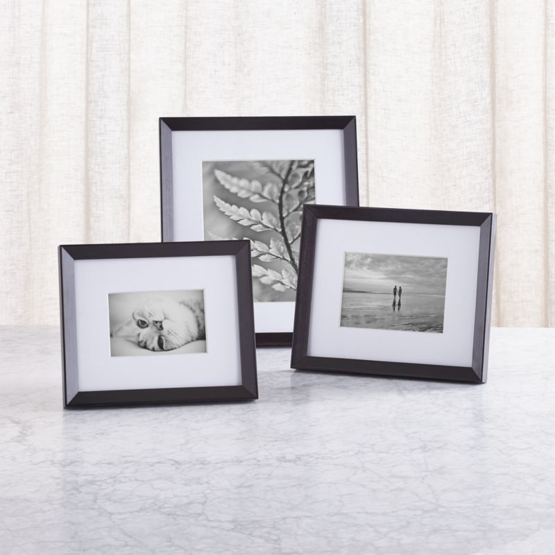 Icon Black Picture Frame Crate And Barrel