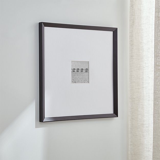 Icon 5x5 Black Wall Frame Reviews Crate And Barrel