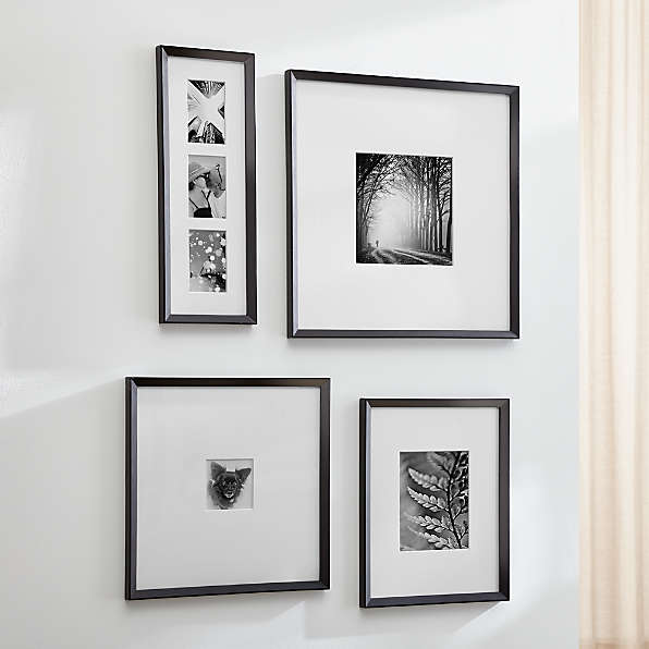 Photo Frame Picture Poster Wall Decor Collage Hanging Black White Picture Frame