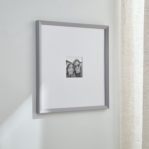 Icon 11x11 Grey Picture Frame - Image 1 of 8