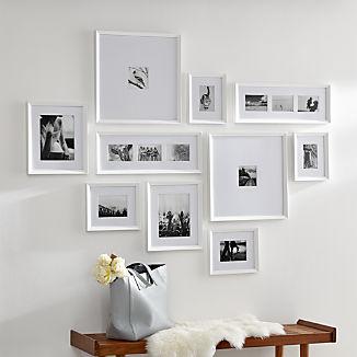 Icon White Frame Gallery, Set of 10