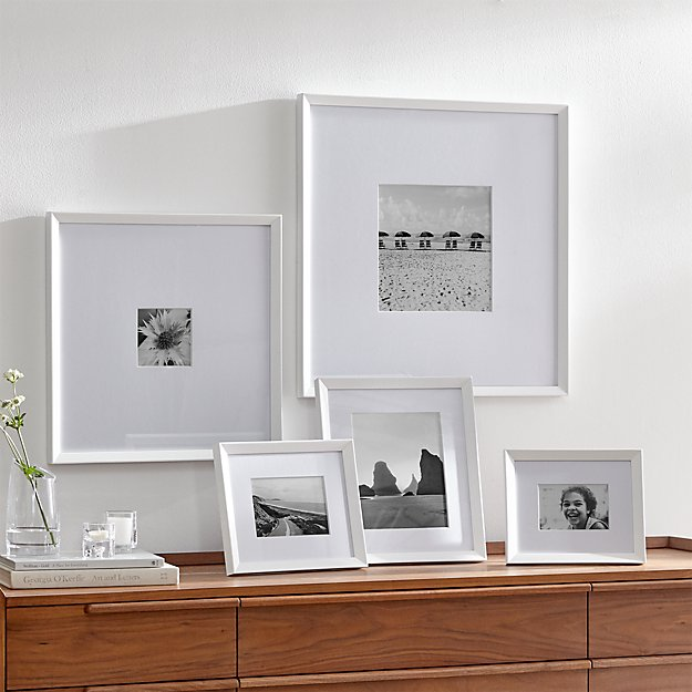 Icon White Frame Gallery Set Of 5 Reviews Crate And