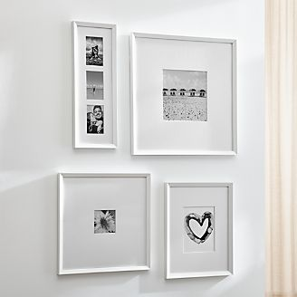 picture frames for photos and wall art crate and barrel. Black Bedroom Furniture Sets. Home Design Ideas