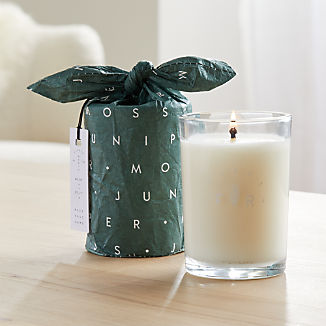Illume Juniper Moss Glass Candle