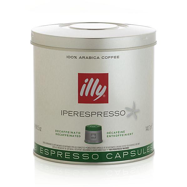 illy ® iperEspresso Decaf Coffee Capsules