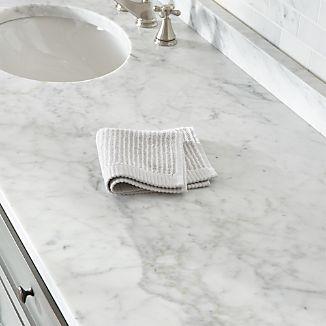Marimekko Ilta Grey Striped Washcloth