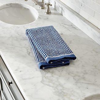 Marimekko Ilta Blue Hand Towel