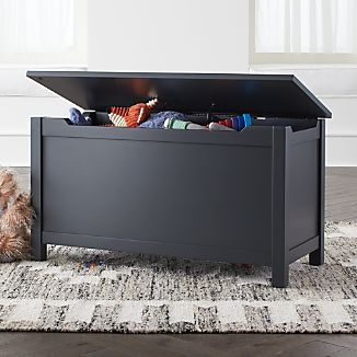Iu0027m Just A Charcoal Wooden Toy Box