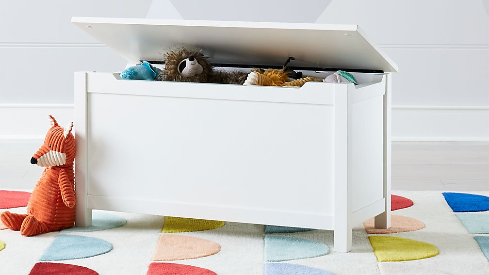 Pin By Interior Designer In A Box On Kids Teenager: I'm Just A White Wooden Toy Box + Reviews