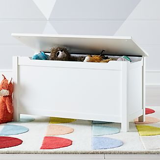 wood toy box crate and barrel. Black Bedroom Furniture Sets. Home Design Ideas