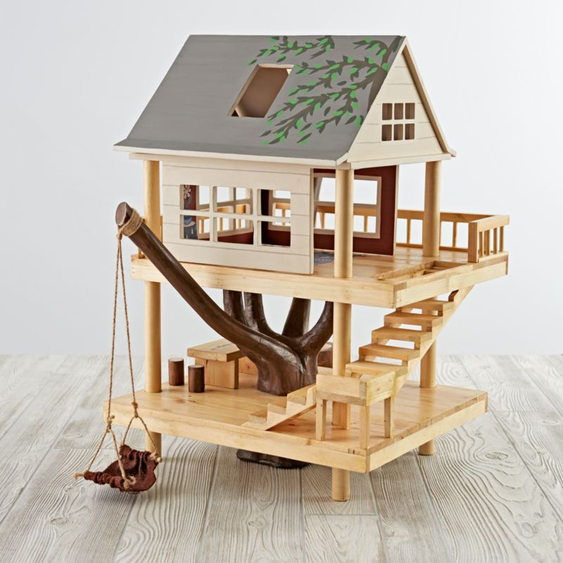 Printable Tree House Plans: Wooden Treehouse Play Set + Reviews