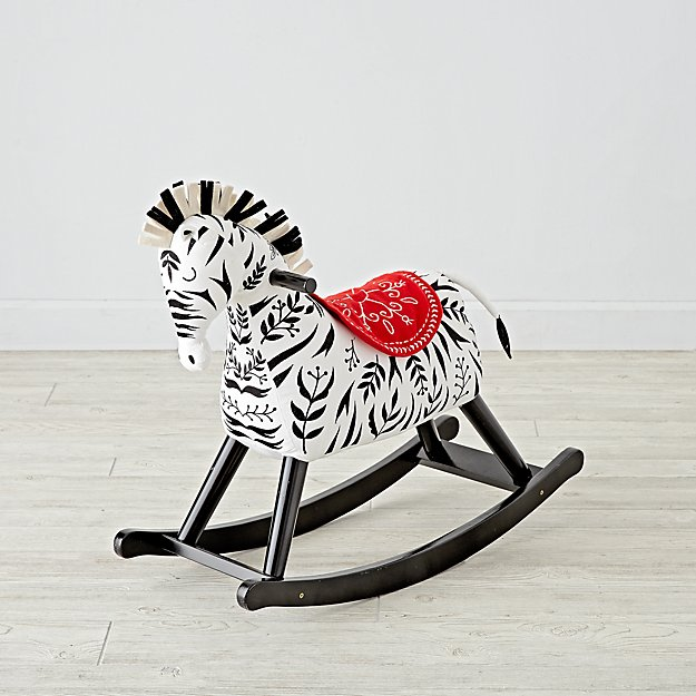 Zebra Rocking Horse For Toddlers