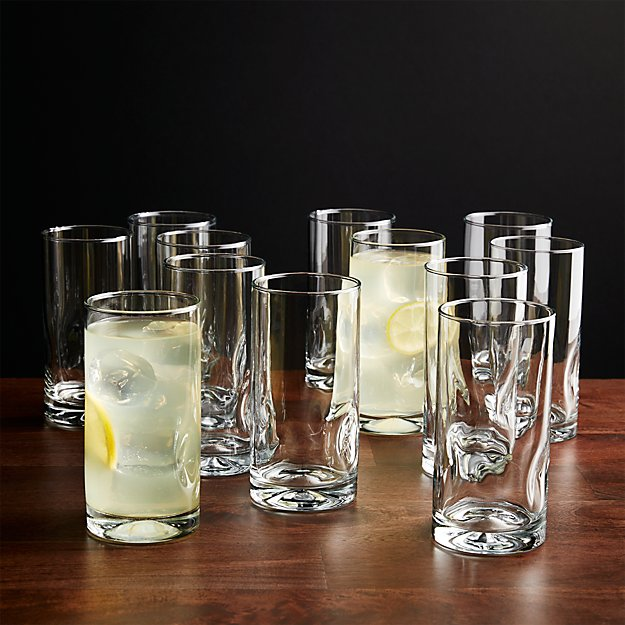 Set of 12 Impressions Cooler Glasses