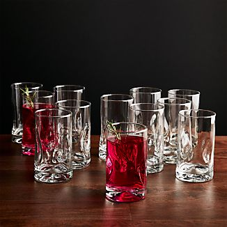 Impressions Juice Glasses, Set of 12