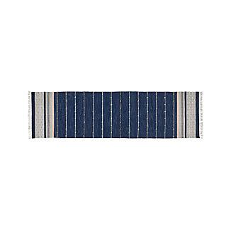 Inavi Blue Indoor/Outdoor Rug 2.5'x9'