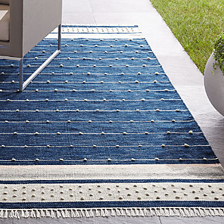 Inavi Blue Indoor/Outdoor Rug
