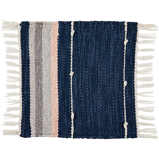 Inavi Blue Indoor/Outdoor Rug Swatch - Image 1 of 3