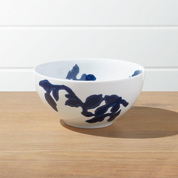 Indigo Vine Cereal Bowl - Image 1 of 3