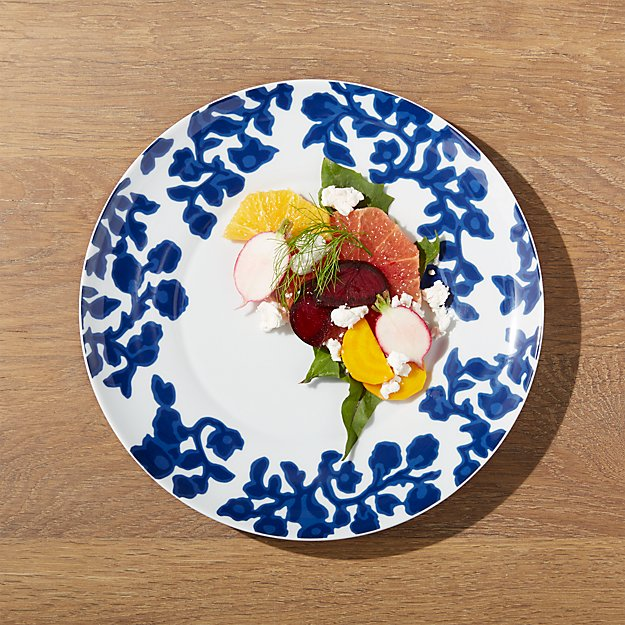 Indigo Vine Dinner Plate - Image 1 of 3